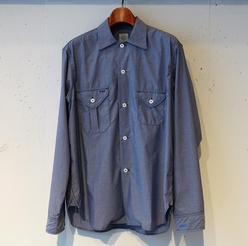POST OVER ALLS -E-Z cruz shirt R- INDIGO