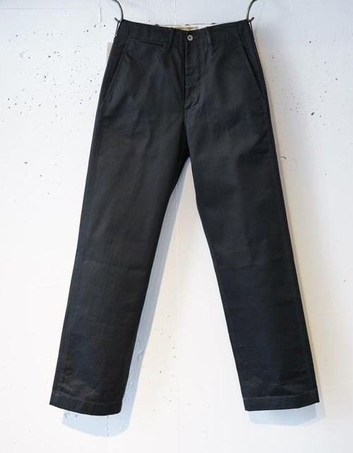 BUZZ RICKSON'S - WILLIAM GIBSON COLLECTION CHINO 1942 MODEL - BLACK