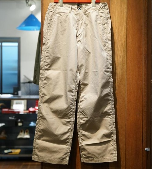 POST OVER ALLS - Double Needle Chino - R - khaki